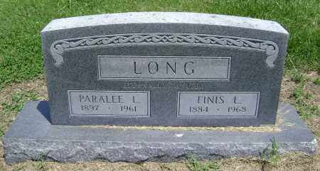 LONG, FINIS LUTHER - Lawrence County, Arkansas | FINIS LUTHER LONG - Arkansas Gravestone Photos