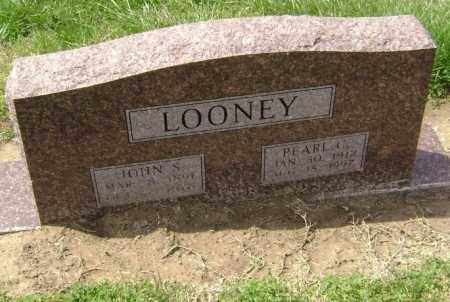 LOONEY, JOHN STUBBLEFIELD - Lawrence County, Arkansas | JOHN STUBBLEFIELD LOONEY - Arkansas Gravestone Photos