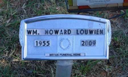 "LOUWIEN, WILLIAM HOWARD ""BILL"" - Lawrence County, Arkansas | WILLIAM HOWARD ""BILL"" LOUWIEN - Arkansas Gravestone Photos"