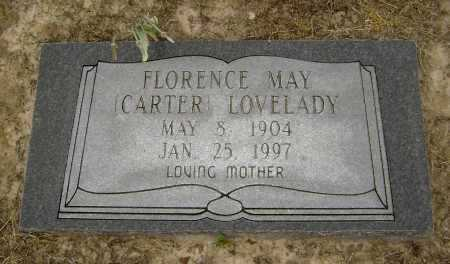 CARTER LOVELADY, FLORENCE MAY - Lawrence County, Arkansas | FLORENCE MAY CARTER LOVELADY - Arkansas Gravestone Photos
