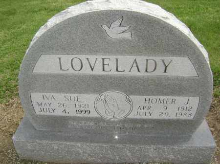 LOVELADY, HOMER JAMES - Lawrence County, Arkansas | HOMER JAMES LOVELADY - Arkansas Gravestone Photos