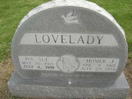WOODS LOVELADY, IVA SUE - Lawrence County, Arkansas | IVA SUE WOODS LOVELADY - Arkansas Gravestone Photos