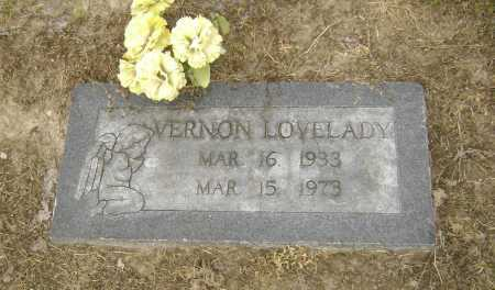 LOVELADY, VERNON ALVIN - Lawrence County, Arkansas | VERNON ALVIN LOVELADY - Arkansas Gravestone Photos