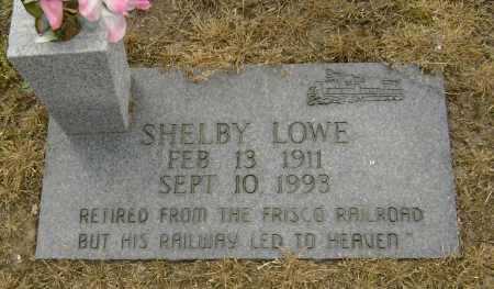 LOWE, SHELBY - Lawrence County, Arkansas | SHELBY LOWE - Arkansas Gravestone Photos
