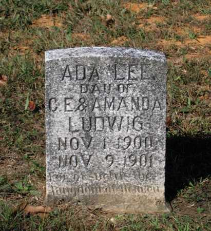 LUDWIG, ADA LEE - Lawrence County, Arkansas | ADA LEE LUDWIG - Arkansas Gravestone Photos