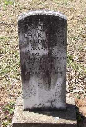LUDWIG (VETERAN WWII), CHARLES MARK PHILLIPS - Lawrence County, Arkansas | CHARLES MARK PHILLIPS LUDWIG (VETERAN WWII) - Arkansas Gravestone Photos