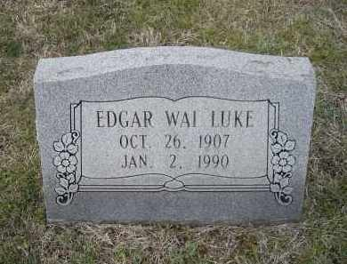 LUKE, EDGAR WAI - Lawrence County, Arkansas | EDGAR WAI LUKE - Arkansas Gravestone Photos