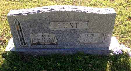 LUST, RUTH J. - Lawrence County, Arkansas | RUTH J. LUST - Arkansas Gravestone Photos
