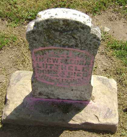 LUTTRELL, INFANT SON - Lawrence County, Arkansas | INFANT SON LUTTRELL - Arkansas Gravestone Photos