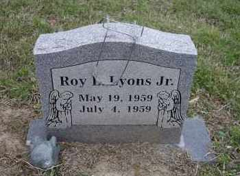 LYONS, JR., ROY LEON - Lawrence County, Arkansas | ROY LEON LYONS, JR. - Arkansas Gravestone Photos
