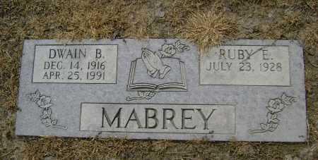 MABREY, DWAIN B. - Lawrence County, Arkansas | DWAIN B. MABREY - Arkansas Gravestone Photos