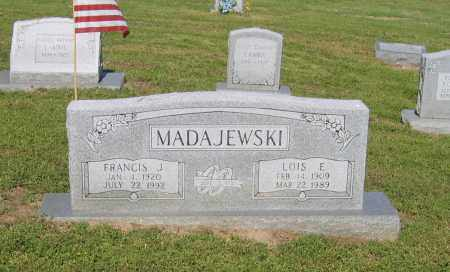 MADAJEWSKI, FRANCIS J. - Lawrence County, Arkansas | FRANCIS J. MADAJEWSKI - Arkansas Gravestone Photos