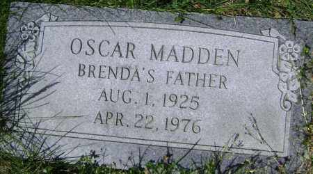 MADDEN, OSCAR - Lawrence County, Arkansas | OSCAR MADDEN - Arkansas Gravestone Photos