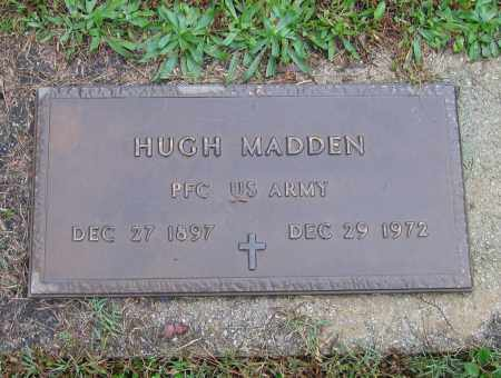 MADDEN (VETERAN), HUGH PARMER - Lawrence County, Arkansas | HUGH PARMER MADDEN (VETERAN) - Arkansas Gravestone Photos