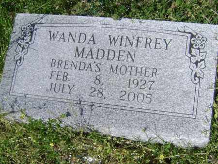 MADDEN, WANDA LEE - Lawrence County, Arkansas | WANDA LEE MADDEN - Arkansas Gravestone Photos
