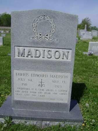 MADISON, FARRIS EDWARD - Lawrence County, Arkansas | FARRIS EDWARD MADISON - Arkansas Gravestone Photos