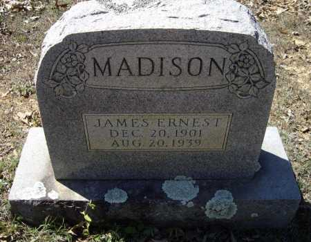 MADISON, JAMES ERNEST - Lawrence County, Arkansas | JAMES ERNEST MADISON - Arkansas Gravestone Photos