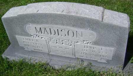 MADISON, LEWIS E. - Lawrence County, Arkansas | LEWIS E. MADISON - Arkansas Gravestone Photos