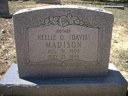 MADISON, NELLIE O. - Lawrence County, Arkansas | NELLIE O. MADISON - Arkansas Gravestone Photos