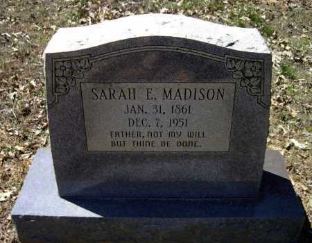 MADISON, SARAH E. - Lawrence County, Arkansas | SARAH E. MADISON - Arkansas Gravestone Photos