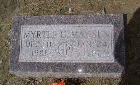 MADSEN, MYRTLE CLIOPHA - Lawrence County, Arkansas | MYRTLE CLIOPHA MADSEN - Arkansas Gravestone Photos