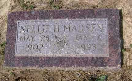 MADSEN, NELLIE H. - Lawrence County, Arkansas | NELLIE H. MADSEN - Arkansas Gravestone Photos