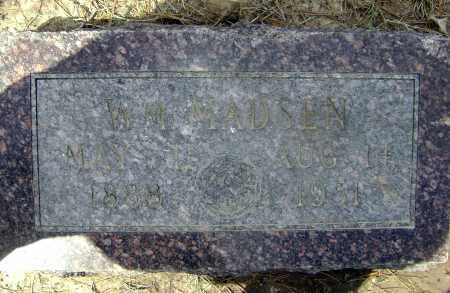 MADSEN, WILLIAM - Lawrence County, Arkansas | WILLIAM MADSEN - Arkansas Gravestone Photos