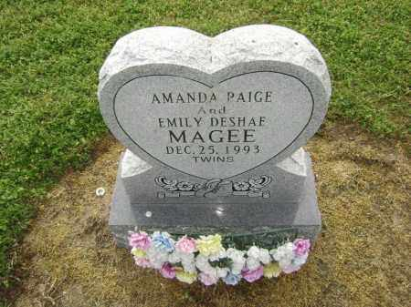MAGEE, AMANDA PAIGE - Lawrence County, Arkansas | AMANDA PAIGE MAGEE - Arkansas Gravestone Photos