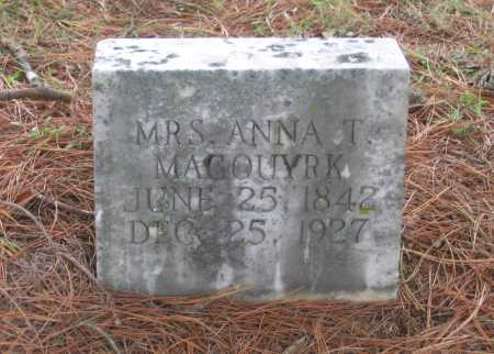 MAGOUYRK, ANNA THERESA - Lawrence County, Arkansas | ANNA THERESA MAGOUYRK - Arkansas Gravestone Photos