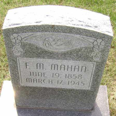 MAHAN, FRANCIS M. - Lawrence County, Arkansas | FRANCIS M. MAHAN - Arkansas Gravestone Photos