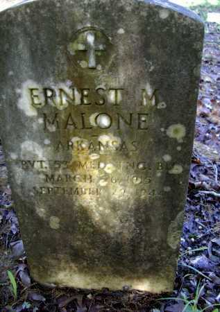 MALONE (VETERAN WWII), ERNEST M. - Lawrence County, Arkansas | ERNEST M. MALONE (VETERAN WWII) - Arkansas Gravestone Photos