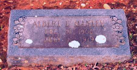 MANLEY, ALBERT E. - Lawrence County, Arkansas | ALBERT E. MANLEY - Arkansas Gravestone Photos