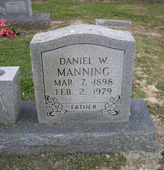 MANNING, DANIEL W. - Lawrence County, Arkansas | DANIEL W. MANNING - Arkansas Gravestone Photos