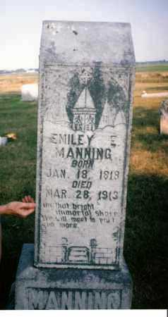 KITCHENS MANNING, EMILY E. - Lawrence County, Arkansas | EMILY E. KITCHENS MANNING - Arkansas Gravestone Photos