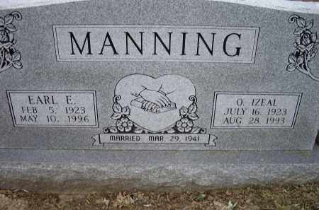 MANNING, EARL E. - Lawrence County, Arkansas | EARL E. MANNING - Arkansas Gravestone Photos
