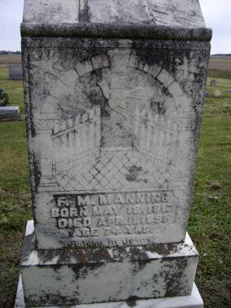 MANNING, FRANCIS M. - Lawrence County, Arkansas | FRANCIS M. MANNING - Arkansas Gravestone Photos