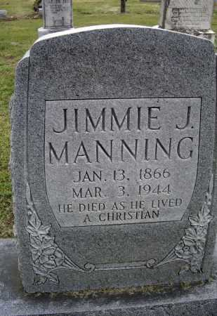 "MANNING, JAMES JOHN ""JIMMIE"" - Lawrence County, Arkansas 