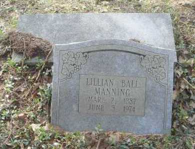 MANNING, LILLIAN - Lawrence County, Arkansas | LILLIAN MANNING - Arkansas Gravestone Photos