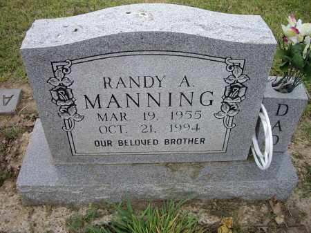 MANNING, RANDY A. - Lawrence County, Arkansas | RANDY A. MANNING - Arkansas Gravestone Photos