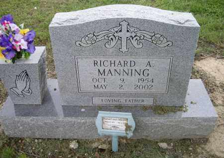 MANNING, RICHARD ALVIN - Lawrence County, Arkansas | RICHARD ALVIN MANNING - Arkansas Gravestone Photos