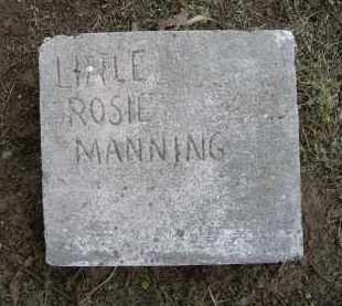 MANNING, ROSIE - Lawrence County, Arkansas | ROSIE MANNING - Arkansas Gravestone Photos