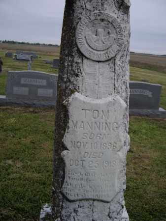 MANNING, TOM - Lawrence County, Arkansas | TOM MANNING - Arkansas Gravestone Photos
