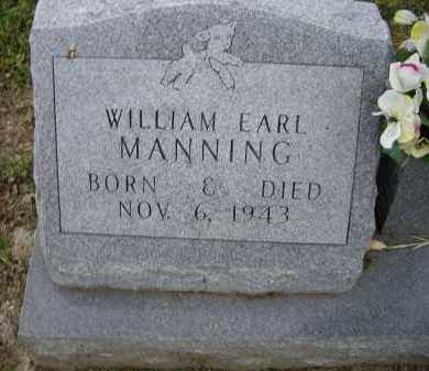 MANNING, WILLIAM EARL - Lawrence County, Arkansas | WILLIAM EARL MANNING - Arkansas Gravestone Photos