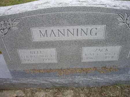 RYE MANNING, BELL - Lawrence County, Arkansas | BELL RYE MANNING - Arkansas Gravestone Photos