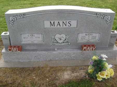 MANS, MARY LOUISE - Lawrence County, Arkansas | MARY LOUISE MANS - Arkansas Gravestone Photos