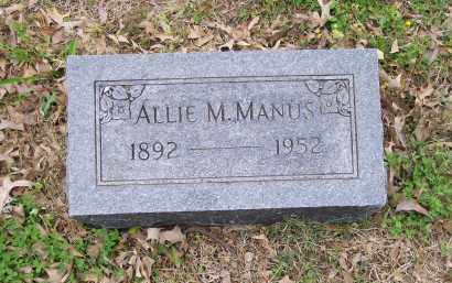 FRY MANUS, ALLIE MEDA - Lawrence County, Arkansas | ALLIE MEDA FRY MANUS - Arkansas Gravestone Photos
