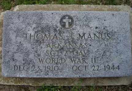MANUS, THOMAS J. - Lawrence County, Arkansas | THOMAS J. MANUS - Arkansas Gravestone Photos