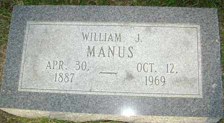 MANUS, WILLIAM JACKSON - Lawrence County, Arkansas | WILLIAM JACKSON MANUS - Arkansas Gravestone Photos