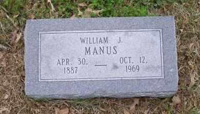 MANUS, WILLIAM J. - Lawrence County, Arkansas | WILLIAM J. MANUS - Arkansas Gravestone Photos
