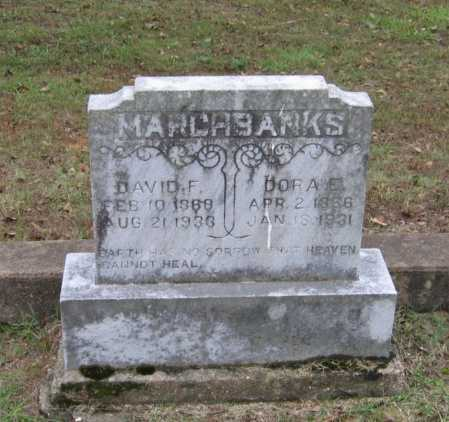 MARCHBANKS, DORA E. - Lawrence County, Arkansas | DORA E. MARCHBANKS - Arkansas Gravestone Photos